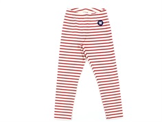 Wood Wood leggings Ira offwhite/red stripes