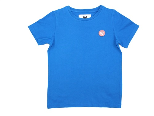 Wood Wood t-shirt Ola bright blue