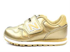 New Balance sneaker gold/white
