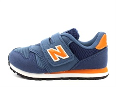 New Balance sneaker blue/orange