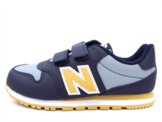 New Balance sneaker navy/yellow