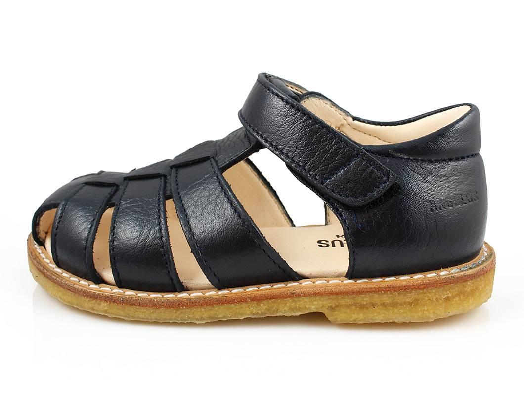 c4783e35d33 Angulus smal sandal i navy | 5026-201 | str. 24-29 | TILBUD