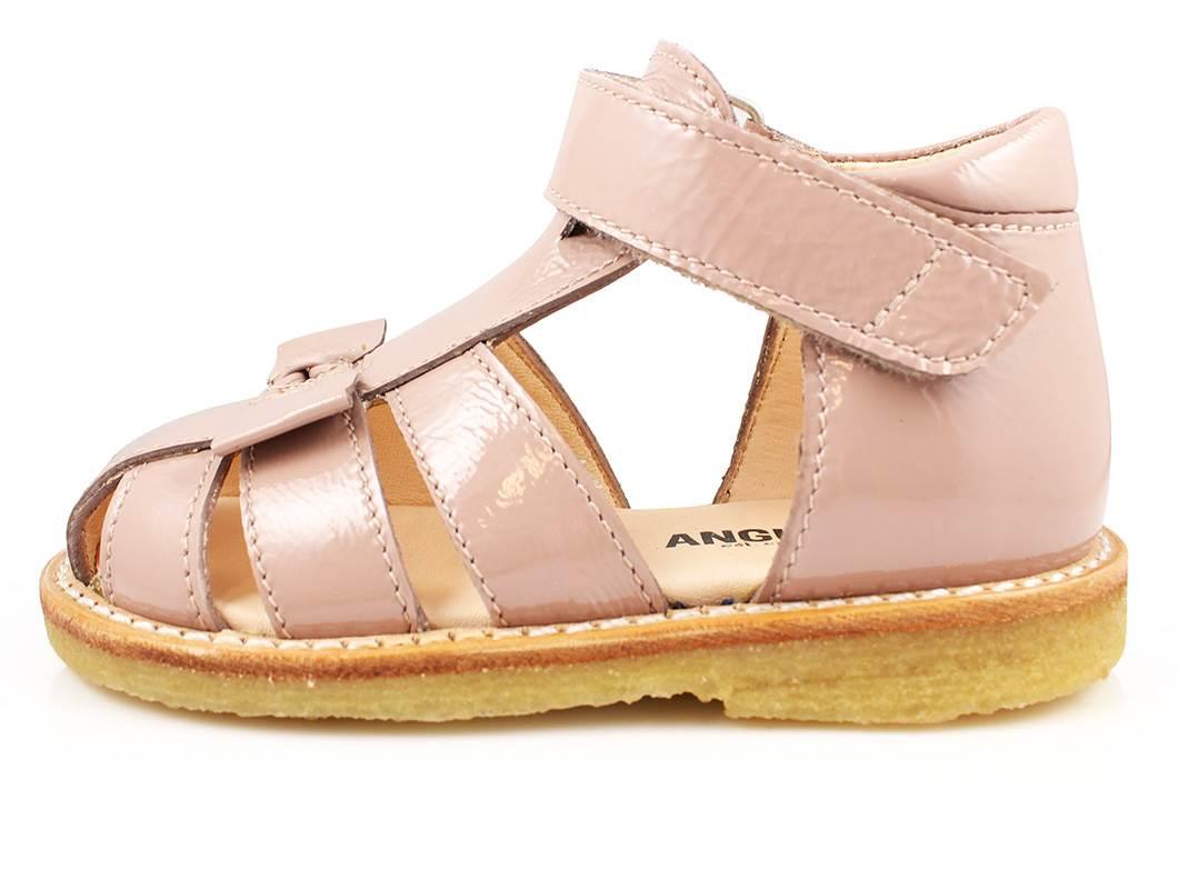08d9e78cec78 Almindelig Angulus sandal rosa lak
