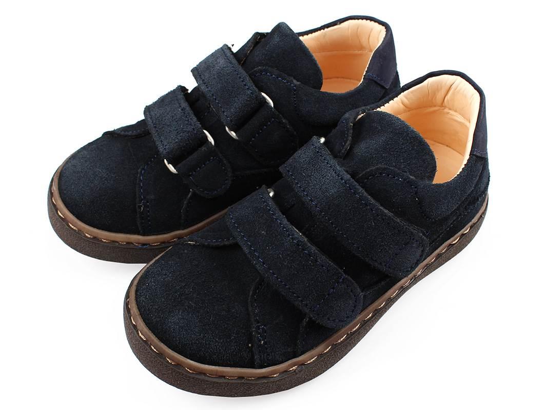 0f7de56bdaf Angulus sko mørkeblå ruskind | 3081-101 | str. 25-30 | UDSALG