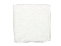 CamCam toddler towel hooded offwhite