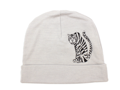 Mini Rodini beanie grey tiger uld