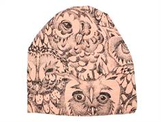 Soft Gallery Beanie coral owl hue hat