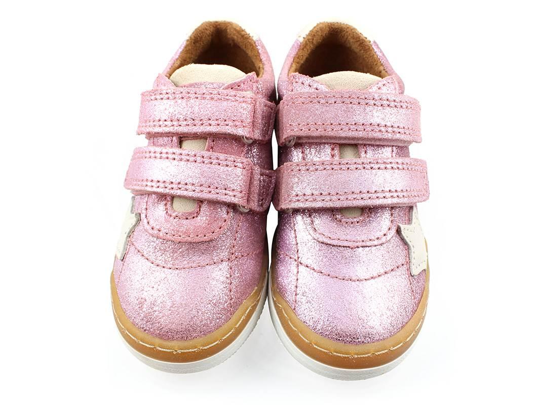 f612c6de67f Bisgaard sneakers rosa glimmer med stjerne   40305.116.08 rose ...