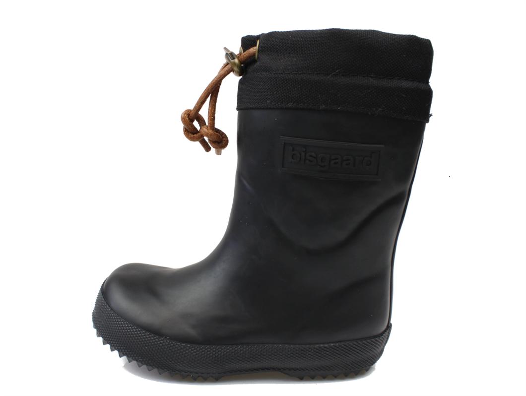 cb607ed02d0 Bisgaard vintergummistøvle sort | Bisgaard gummistøvle med varmt ...