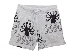 Mini Rodini shorts octopus grå