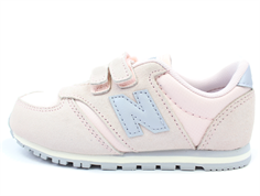 New Balance sneaker rose/grey med velcro