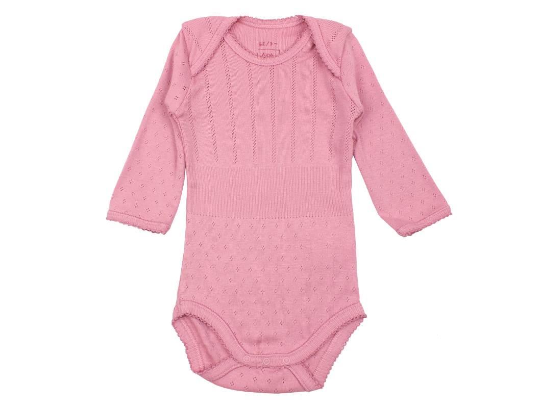 Noa Noa Miniature body rosa | Baby basic body foxglove | UDSALG