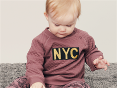 Petit by Sofie Schnoor sweatshirt NYC old purple