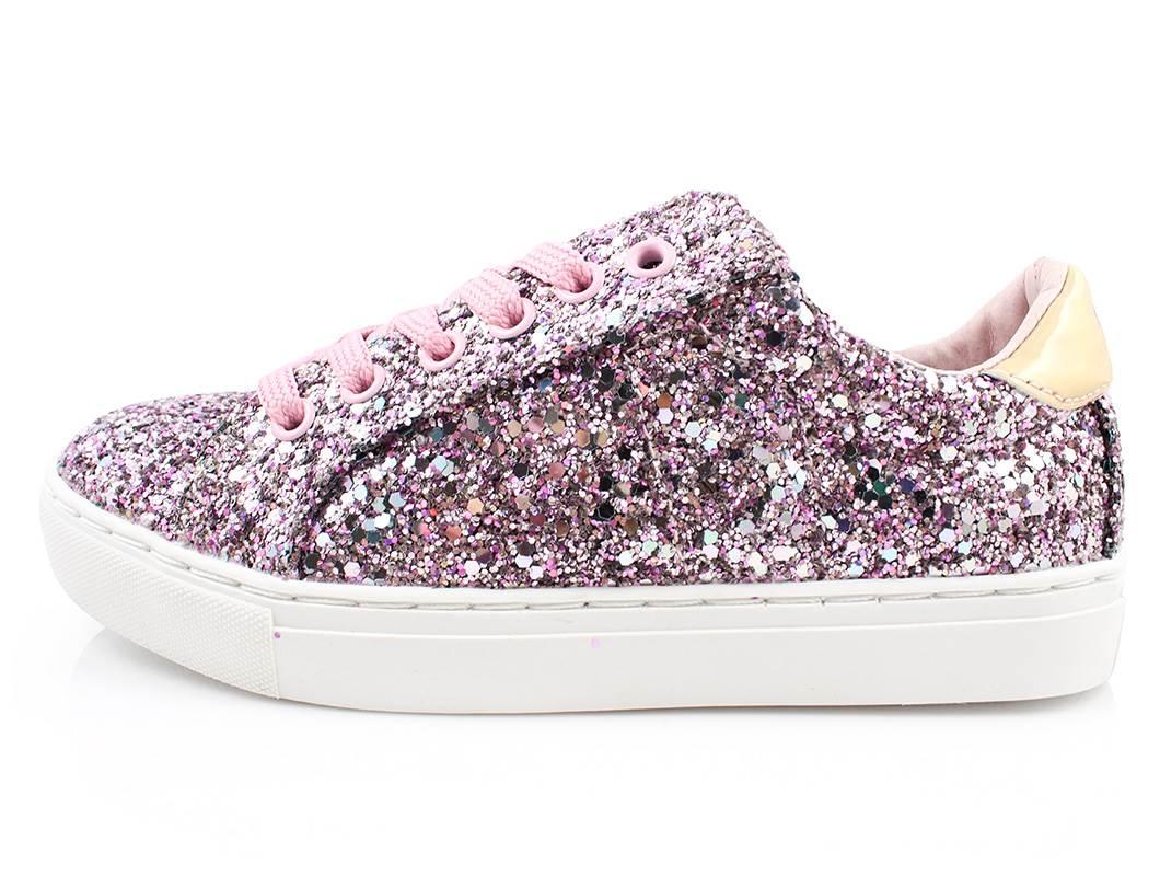 9d6ec302660 Petit by Sofie Schnoor sneakers rosa glimmer | P161658 Rose | str ...