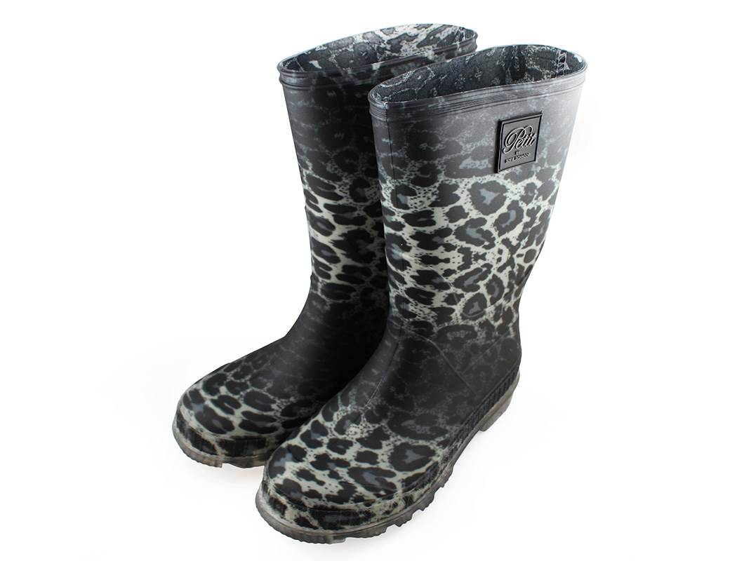 95ccabdc1a5 Petit by Sofie Schnoor gummistøvler leopard | P154701 grey leopard ...