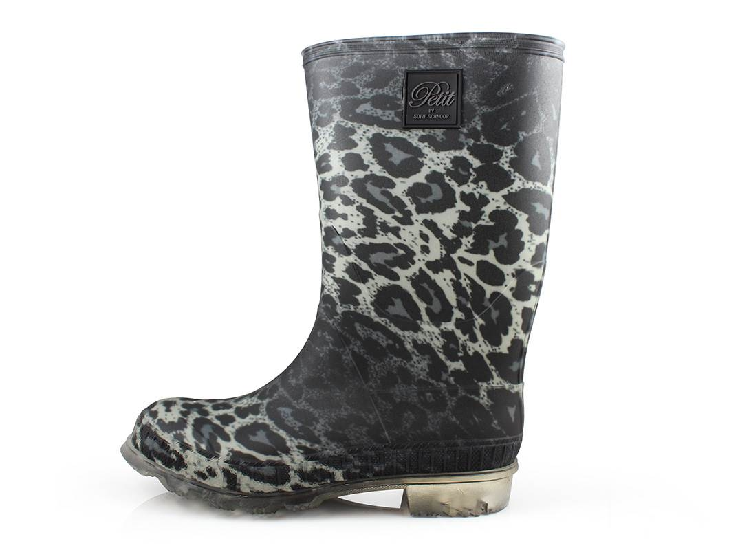 a0b369f72bd Petit by Sofie Schnoor gummistøvler leopard   P154701 grey leopard ...