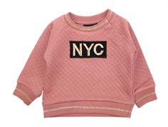Petit by Sofie Schnoor sweatshirt quilt dusty rose