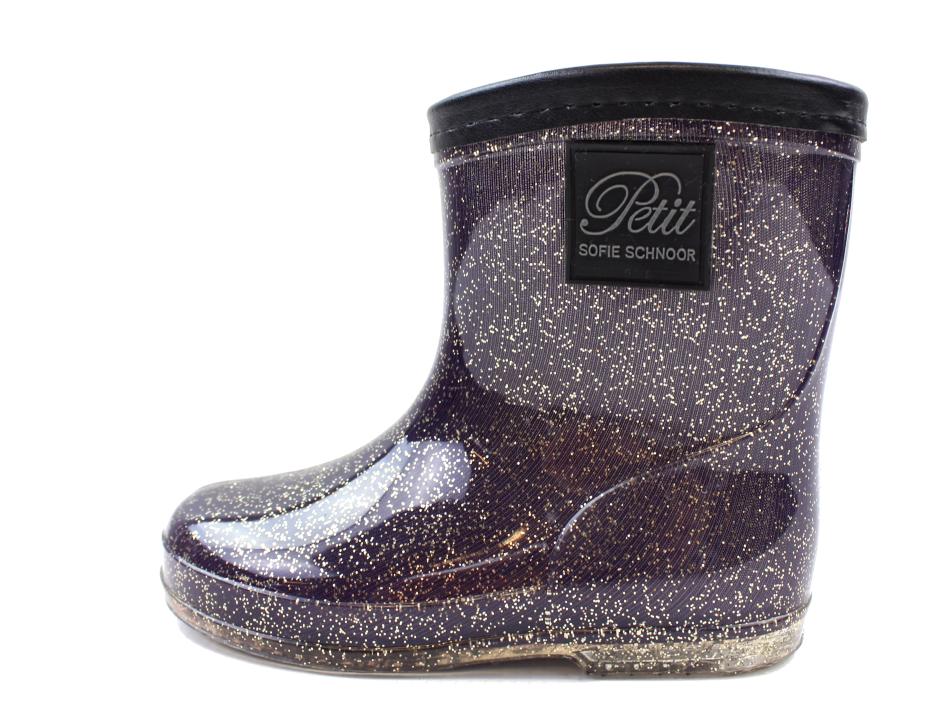 704615d1 Petit by Sofie Schnoor vintergummistøvler lilla glimmer