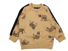 Petit by Sofie Schnoor sweatshirt tan tiger