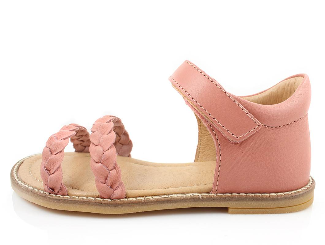 eef2e2e2f368 Pom Pom sandaler rosa læder