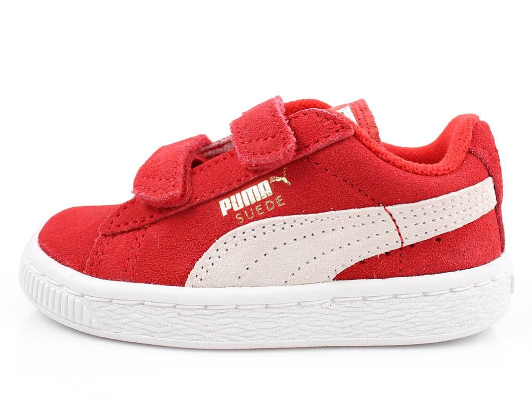 3f864fd6f8ee ... good puma sneakers suede rød til børn suede high risk red str. 28 35  d707d