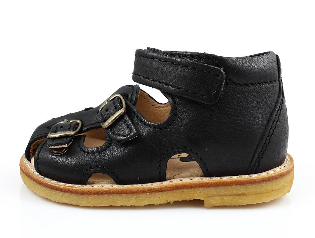b7a713cc249e Arauto RAP sandal sort med spænder og velcro
