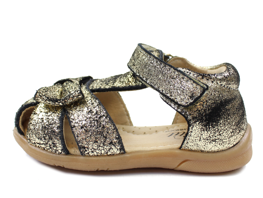 f8de90ce64be Petit by Sofie Schnoor sandal sort guld glimmer