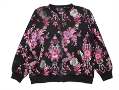 Petit by Sofie Schnoor jakke/cardigan black flower