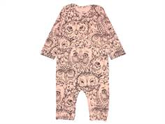 Soft Gallery Ben jumpsuit coral owl