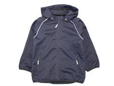 Wheat overgangsjakke/softshell jakke Carlo dark blue