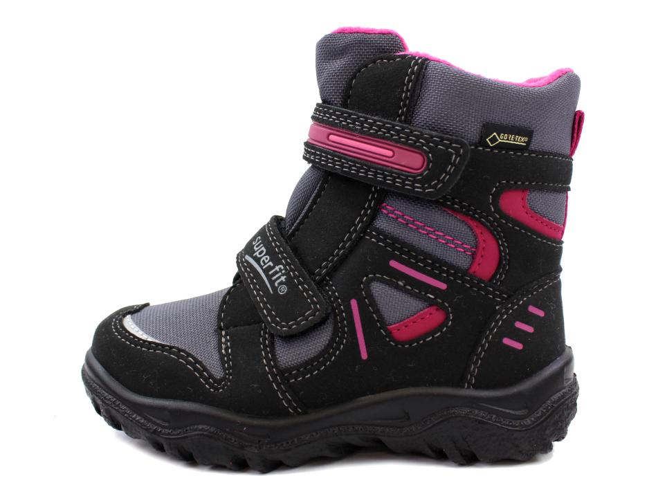 c66fe5e686dd Superfit vinterstøvler sort pink