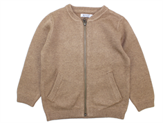 Wheat cardigan Chris camel melange