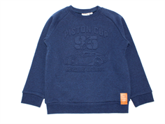 Wheat sweatshirt Cars blue denim