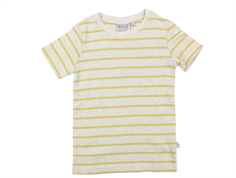 Wheat t-shirt Wagner kit melange striber